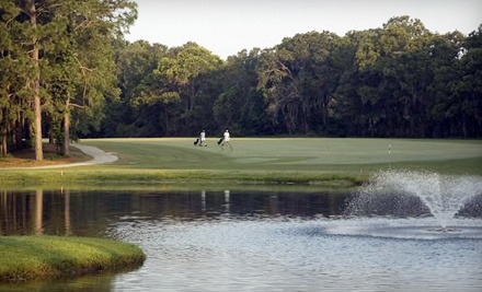 Weekday Golf Outing for Two People (a $70 value) - The Lakes Golf Course in Wentworth