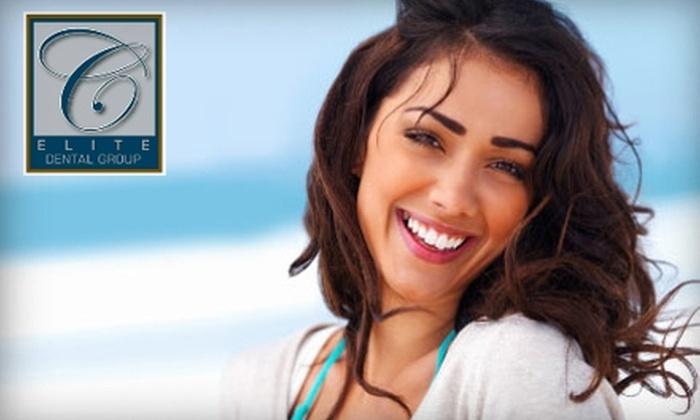 Elite Dental Group - Kendall: $99 for Zoom! Teeth Whitening at Elite Dental Group ($500 Value)