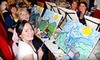 Wine and Canvas Sioux Falls - Multiple Locations: Painting Class with Drink Specials for One or Two from Wine and Canvas Sioux Falls (51% Off)