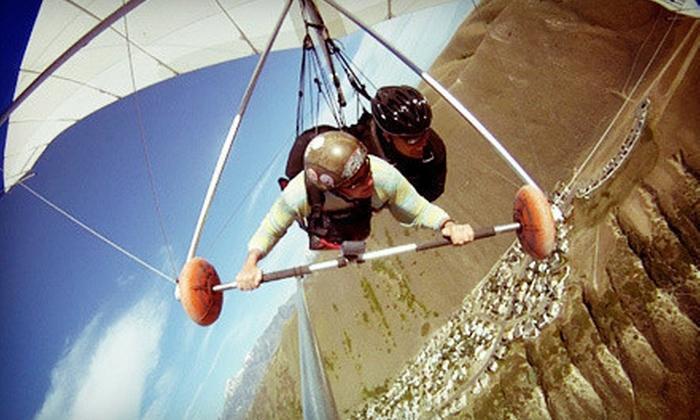 Eagles Nest Hang Gliding & Paragliding - Draper: Paragliding or Hang Gliding for One or Two from Eagles Nest Hang Gliding & Paragliding (Up to 55% Off)