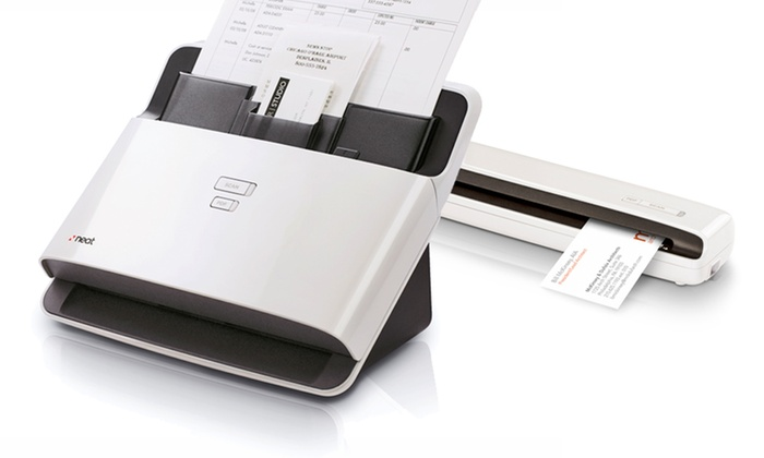 NeatReceipts or NeatDesk Mobile or Desktop Document Scanner: NeatReceipts or NeatDesk Document Scanners for Mac or PC from $89.99-$274.99 (Manufacturer Refurbished). Free Returns.