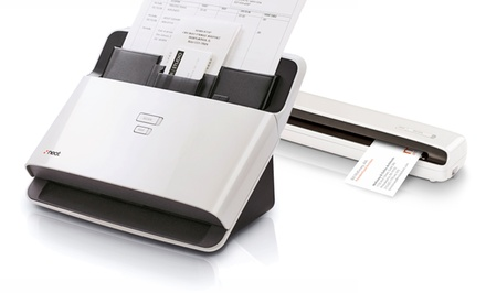 NeatReceipts or NeatDesk Document Scanners for Mac or PC from $89.99-$274.99 (Manufacturer Refurbished). Free Returns.