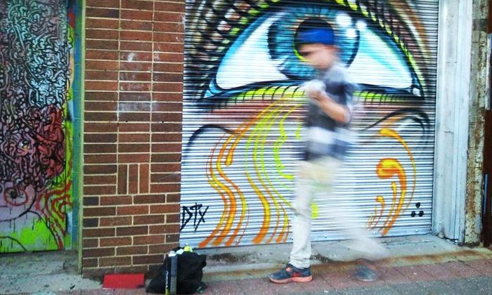 Graffiti Art Tour and Stencil Class - Dallas: Visit Graffiti Art and Create a Street Stencil with a Pro