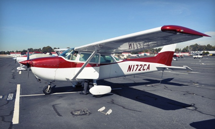 California Airways - Hayward: $149 for a Two-Hour Intro Flight Lesson at California Airways ($298 Value)