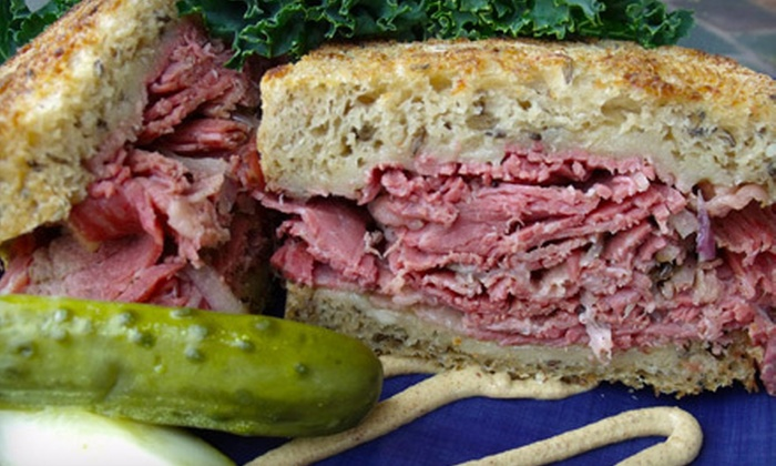 Szmidt's Old World Deli - Glen Hazel,Greenfield: $25 for Five Sandwiches at Szmidt's Old World Deli (Up to $49.95 Value)