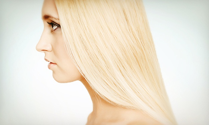Salon Papillon - Corona Del Mar: One or Two Express Keratin Complex Hair-Straightening Treatments from Karin or Jila at Salon Papillon (Up to 58% Off)