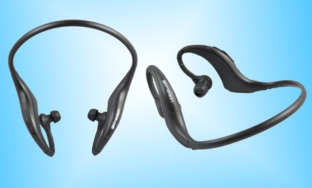 One Pair of Emerson Bluetooth Wireless Stereo Headphones (EM509).