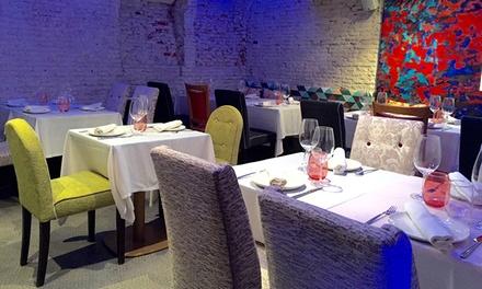 Menú premium para dos con aperitivo, entrante, principal, postre y botella de vino desde 39,95 € enArtys Madrid