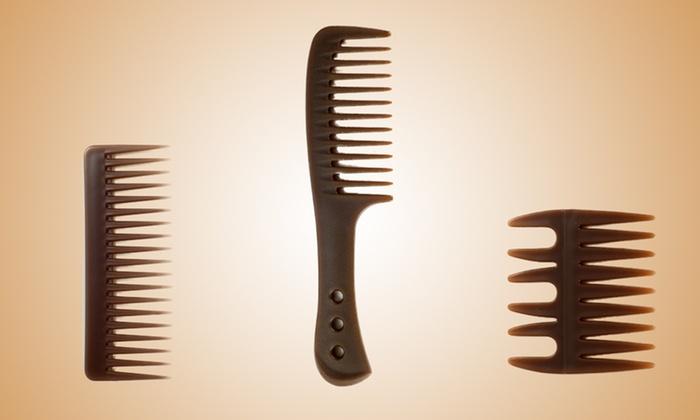 Eva NYC Argan Oil Infused Combs: Eva NYC Argan-Oil-Infused Combs (Up to 79% Off). Multiple Combs Available.