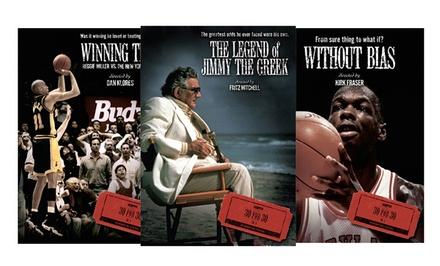 ESPN 30 for 30 Season 1 DVDs