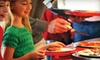 Incredible Pizza Company - Urbandale: Lunch Buffet and Games Package for Two or Four at Incredible Pizza Company (55% Off)