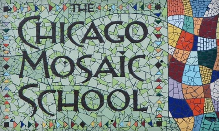The Chicago Mosaic School - North Center: $36 for a Basic Mosaic Workshop at The Chicago Mosaic School ($75 Value)