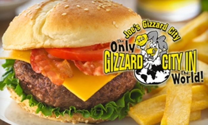 Joe's Gizzard City - Potterville: $10 for $20 Worth of Fried Fare and More at Joe's Gizzard City