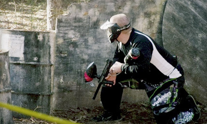Carnage Paintball - West Oaks: One or Two All-Day Paintball Packages or Paintball Party for 10 at Carnage Paintball in Woodstock (Up to 53% Off)