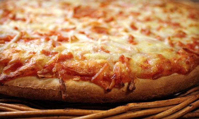 Gianelli's Pizza & Chicken Man - Silverswan: $10 for Two One-Topping Pizzas for Takeout from Gianelli's Pizza & Chicken Man ($20.55 Value)
