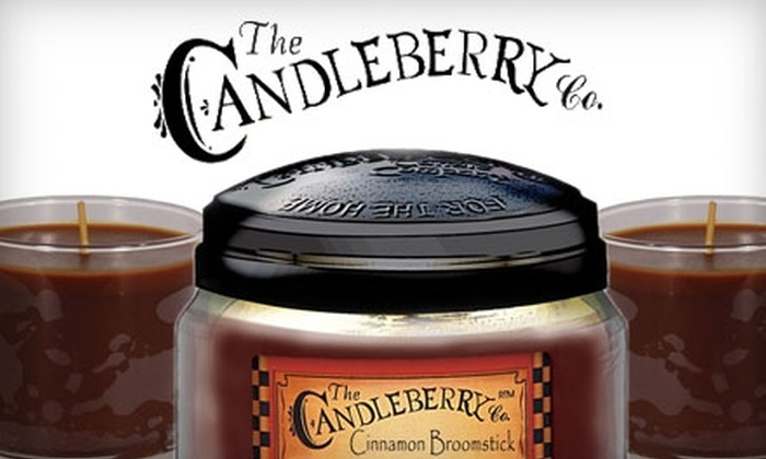 The Candleberry Company: $12 for $25 Worth of Candles, Gifts and More from The Candleberry Company