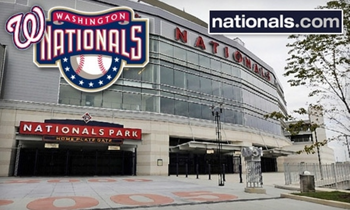Washington Nationals - Navy Yard: Ticket to a Washington Nationals vs. Arizona Diamondbacks Game. Two Dates Available.