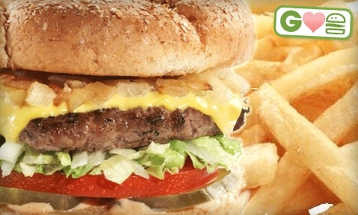 Topz Healthier Burger Grill - Charlotte: $6 for $12 Worth of Gourmet Burgers, Sandwiches, and More at Topz Healthier Burger Grill