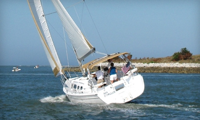 St. Augustine Sailing - St. Augustine: $129 for Two-Hour Private Sailing Charter at St. Augustine Sailing ($265 Value)