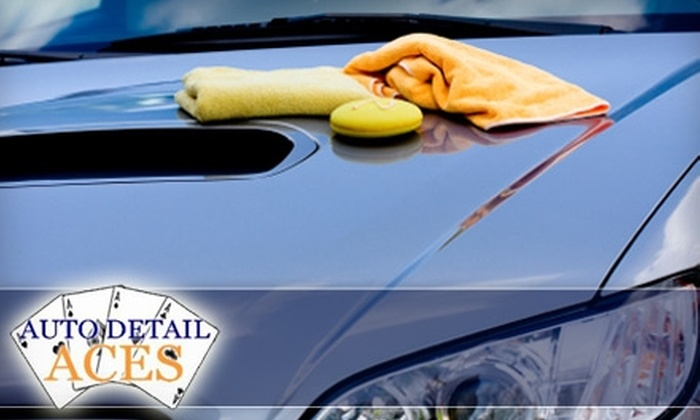 Auto Detail Aces - Multiple Locations: Car-Cleaning Services at Auto Detail Aces. Choose from Four Options.