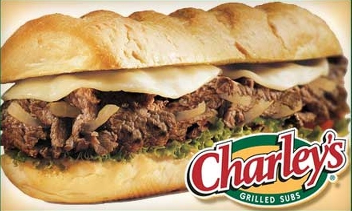 Charley's Grilled Subs Pittsburgh - Multiple Locations: $5 for $10 Worth of Fresh Subs and More at Charley's Grilled Subs. Choose from Ten Locations.
