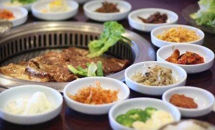 $20 Groupon to CGJ Korean BBQ - CGJ Korean BBQ in Glendale