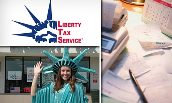 Liberty Tax Service - Multiple Locations: $75 for Standard Tax Return Prep from Liberty Tax Service