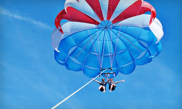 X-Treme Parasail - Honolulu: $99 for a Tandem-Parasail Package for Two from X-Treme Parasail ($200.18 Value)