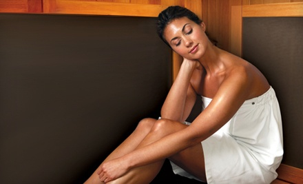 3 Infrared Sauna Sessions (a $105 value) - SuiteSweat in Novi