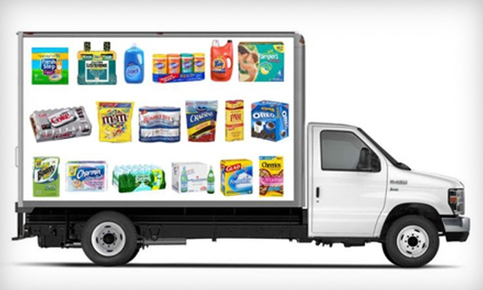 Warehouseclub.com: $25 for $50 Worth of Delivered Groceries and Household Items from Warehouseclub.com