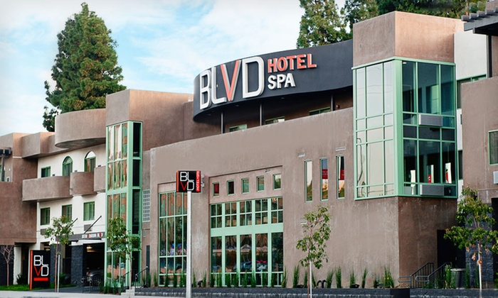 The BLVD Hotel & Spa - Studio City: $149 for a One-Night Stay for Two with $50 Spa or Food Credit at The BLVD Hotel & Spa in California