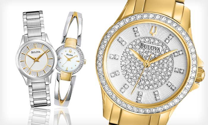 Bulova Women's Watches: Bulova Women's Watches (Up to 67% Off). 13 Options Available. Free Shipping and Free Returns.