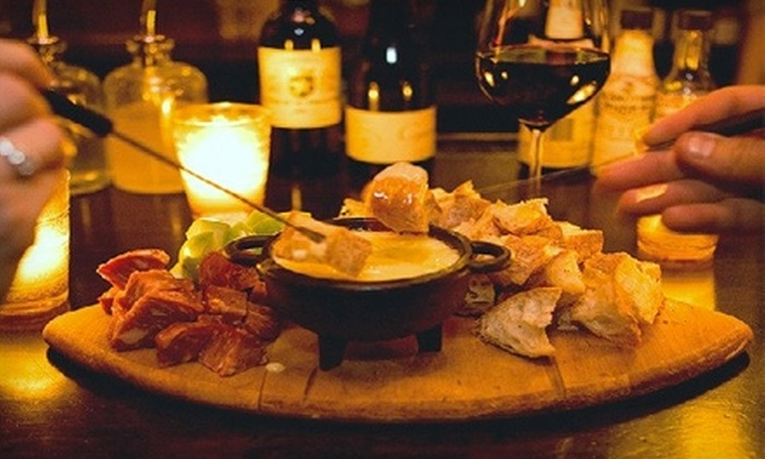 The JakeWalk - Carroll Gardens: $8 for Cheese Fondue for Up to Four People at The JakeWalk on Smith St. ($16 Value)