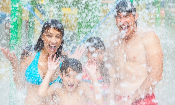 Splash Zone - Wildwood: General or Memorial Day Weekend Water-Park Visit for One or Four at Splash Zone (Up to 56% Off)