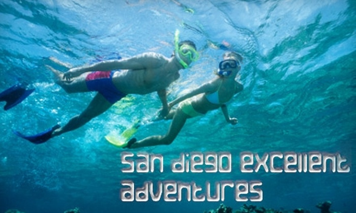 San Diego Excellent Adventures - Village: $35 for Your Choice of a Guided Snorkeling Tour, Stand-Up Paddleboard Tour, or Kayaking Tour from San Diego Excellent Adventures (Up to $70 Value)