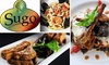 Sugo Restaurant & Tapas - Roswell: $20 for $40 of Food and Drink at Sugo Restaurant & Tapas