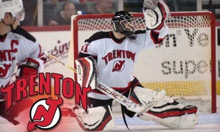 Trenton Devils - Chambersburg: $13 for a Center Club Ticket to See Trenton Devils Hockey (a $26.50 value)