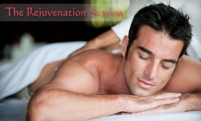 Rejuvenation Station - East Central: $30 for $60 Worth of Massage Services at Rejuvenation Station