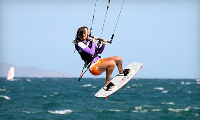 Sheldon Kiteboarding - Rio Vista: $35 for Kiteboarding Lesson from Sheldon Kiteboarding in ($80 Value)