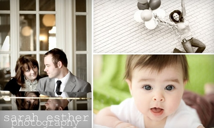 Sarah Esther - Atlanta: $49 for a One-Hour On-Location Photography Session Plus DVD of Digital Prints with Sarah Esther ($500 Value)