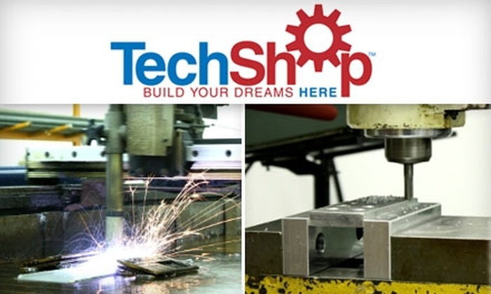 TechShop RDU - Umstead: $125 for Two-Month Membership and Six Hours of Classes at TechShop ($378 value)