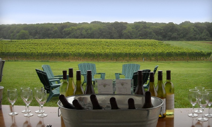 Coastal Vineyards - Dartmouth: $10 for a Wine-Pairing Overview and Vineyard Tour for Two at Coastal Vineyards in South Dartmouth ($20 Value)
