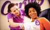 Curves of California - Bay Area - Multiple Locations: $15 for Two Curves Circuit with Zumba Fitness Classes and One-Month Gym Membership from Curves of California (Up to $164 Value)