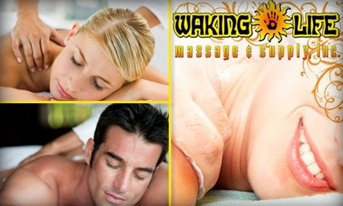 Waking Life Massage - University District: $35 for an Hour-Long Wellness Massage at Waking Life Massage & Supply, Inc. ($70 Value)