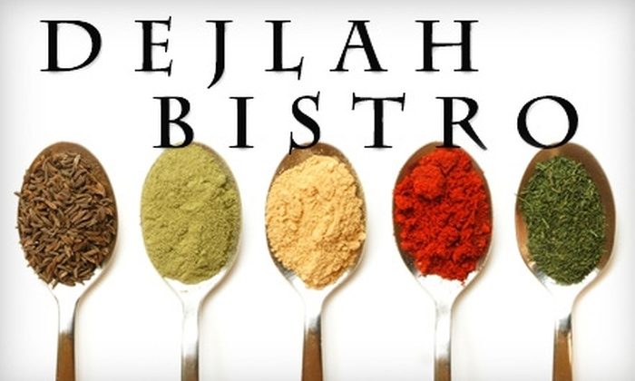 Dejlah Bistro - East Louisville: $10 for $20 Worth of Mesopotamian Fare and Drinks at Dejlah Bistro