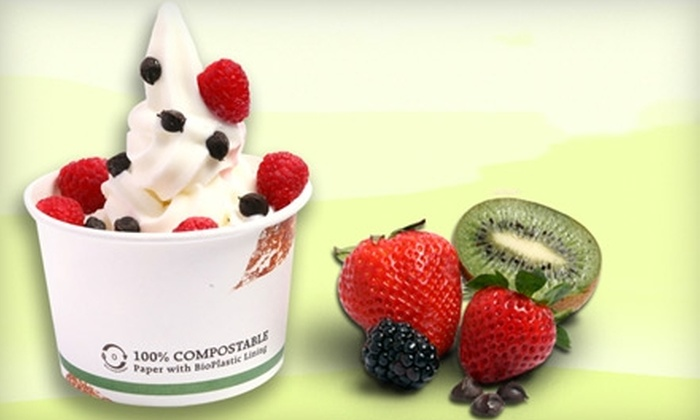 Frogberry - Fort Worth: $5 for $10 Worth of Frozen Yogurt and More at Frogberry