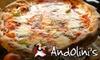 Andolini's Pizzeria - Owasso: $12 for $25 Worth of Pizza and Gourmet Italian Cuisine at Andolini's Pizzeria