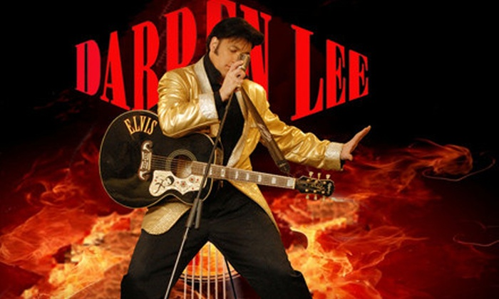 Darren Lee - Cascade-Schou: $40 for Darren Lee Elvis Impersonator Show for Two at Grand Villa Casino in Burnaby ($80 Value). Two Options Available.