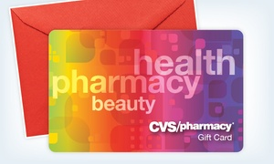 $47 For Two Egift Cards, Each Valid For $25 Worth Of  Products At Cvs/pharmacy ($50 Total Value)