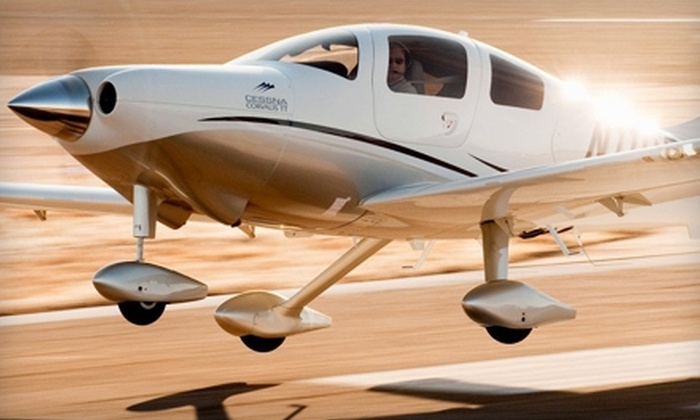 J.A. Flight Services - Chicago: $150 for a Two-Hour Introductory Flight Lesson at J.A. Flight Services ($311.25 Value)